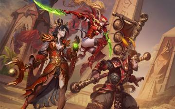 обоя видео игры, heroes of the storm, heroes, of, the, storm, онлайн, action, ролевая
