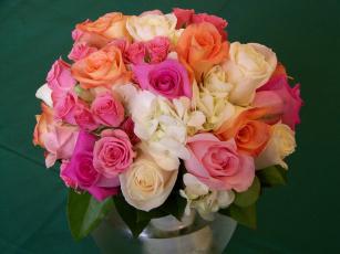 Картинка цветы розы букеты