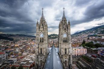 обоя basilica del voto nacional, города, - католические соборы,  костелы,  аббатства, храм