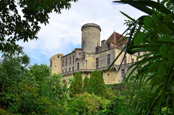 обоя aquitaine - p&, 233, rigord - france, города, замки франции, замок