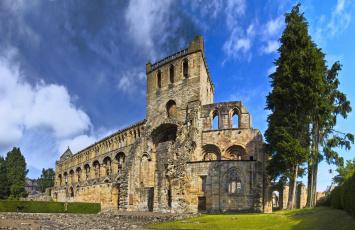 обоя abad&, 237, a agustinista,  jedburgh, города, - католические соборы,  костелы,  аббатства, храм