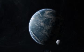 обоя космос, арт, планеты, звезды, вселенная, галактика