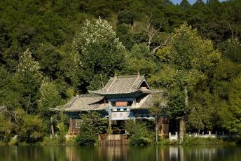 Картинка китай lijiang природа пейзажи пейзаж