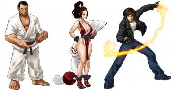 обоя рисованное, комиксы, мужчины, девушка, фон, униформа, взгляд