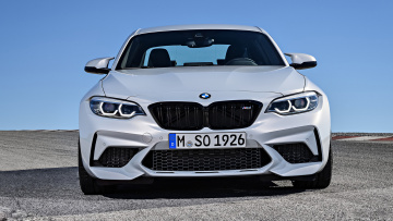 обоя bmw m2 competition 2018, автомобили, bmw, 2018, competition, m2