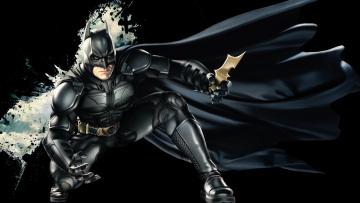 Картинка batman рисованные комиксы бэтмен человек-летучая мышь