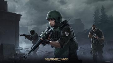 Картинка contract+wars видео+игры онлайн action contract wars шутер