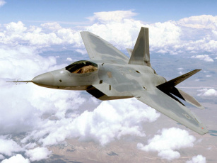 обоя авиация, боевые, самолёты, raptor, f-22