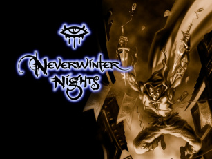 обоя neverwinter, nights, видео, игры