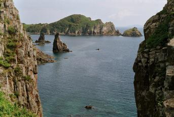 обоя бухта сибирякова, природа, побережье, скалы, приморье, бухта, сибирякова