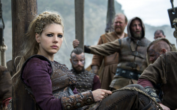 обоя кино фильмы, vikings , 2013,  сериал, katheryn, winnick, lagertha, lothbrok