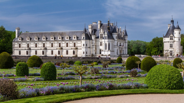 Картинка города замки луары франция парк замок