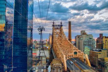 обоя new york city, города, нью-йорк , сша, панорама, небоскребы