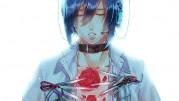 обоя аниме, vocaloid, парень