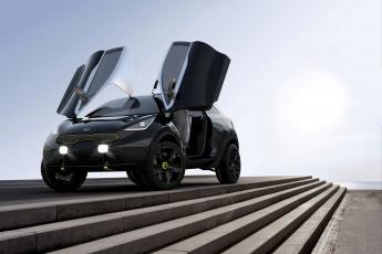 Картинка 2013 kia niro автомобили