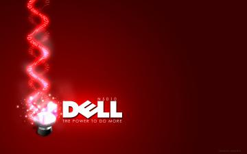 Картинка компьютеры dell фон логотип
