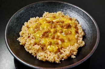 Картинка еда вторые+блюда рис фасоль соус