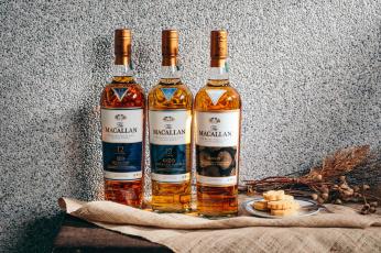 обоя бренды, бренды напитков , разное, виски, бутылки, алкоголь, пирожное