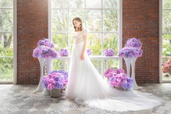 обоя девушки, -unsort , невесты, невеста, платье, праздник, свадьба, красотка