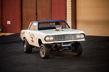 обоя 1964-chevelle-gasser, автомобили, chevrolet, chevelle