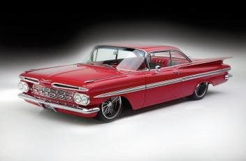 обоя 1959-chevrolet-impala, автомобили, chevrolet