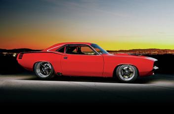 обоя 1970-plymouth-barracuda, автомобили, plymouth, cuda