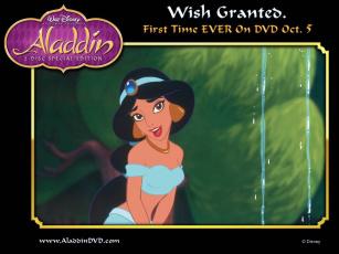 Картинка мультфильмы aladdin