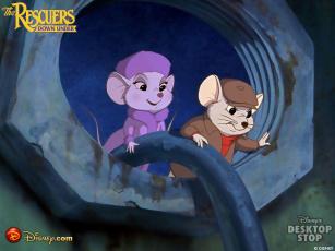 Картинка the rescuers мультфильмы