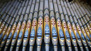 обоя музыка, -музыкальные инструменты, орган, уэльс, трубы, рексем