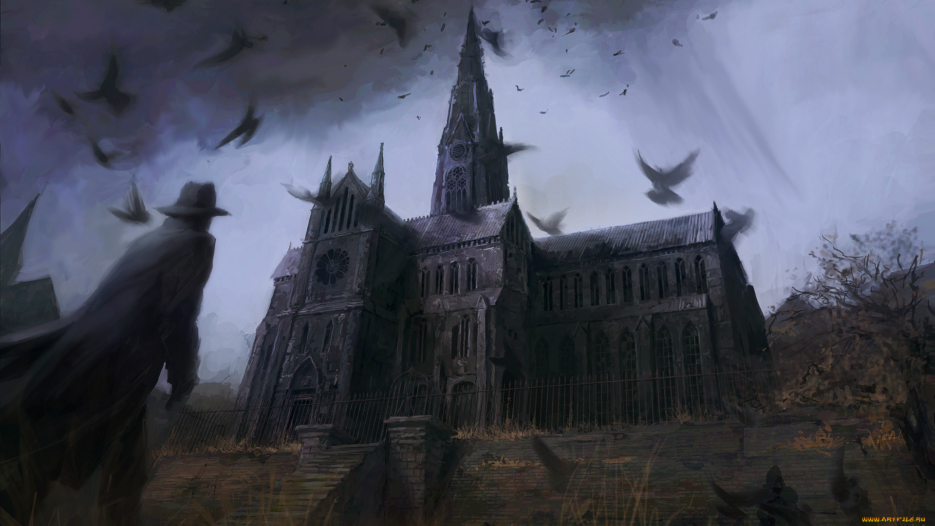gothic fiction (often initial capital letter) noting or pertaining to a style of literature characterized by a gloomy setting, grotesque, mysterious, or violent events, and an atmosphere of degeneration and decay: 19th-century gothic novels.