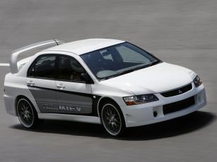 обоя mitsubishi lancer evolution miev concept 2005, автомобили, mitsubishi, concept, miev, evolution, lancer, 2005