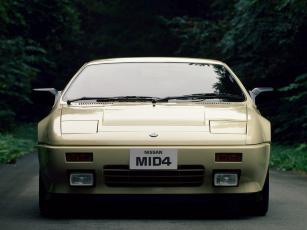обоя nissan mid4 concept 1985, автомобили, nissan, datsun, 1985, concept, mid4