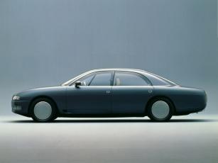 обоя nissan neo-x concept 1989, автомобили, nissan, datsun, concept, 1989, neo-x