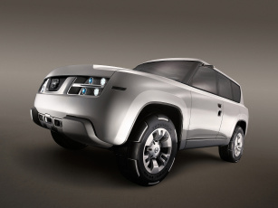 обоя nissan terranaut concept 2006, автомобили, nissan, datsun, 2006, terranaut, concept
