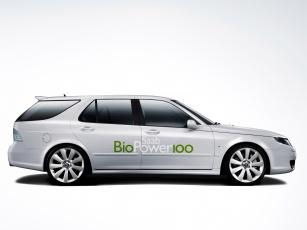 обоя saab biopower 100 concept 2007, автомобили, saab, 100, 2007, biopower, concept