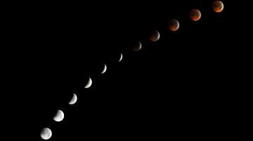 обоя космос, луна, вселенная