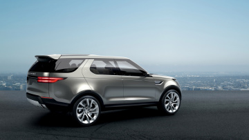 обоя land-rover discovery vision concept 2014, автомобили, land-rover, discovery, vision, concept, 2014