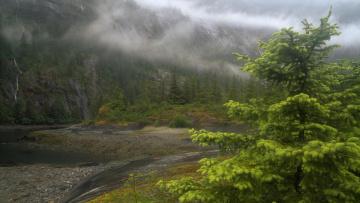 обоя природа, реки, озера, река, горы