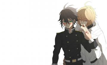 обоя аниме, owari no seraph, последний, серафим