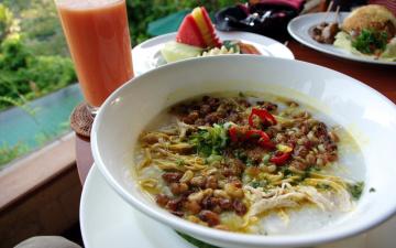 обоя еда, первые блюда, овощной, суп