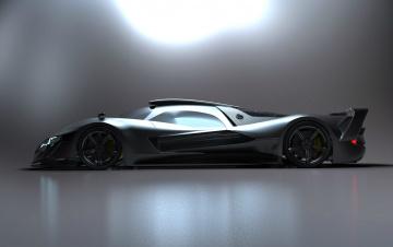 обоя mercedes-benz sl gtr concept, автомобили, 3д, gtr, mercedes-benz, sl, concept
