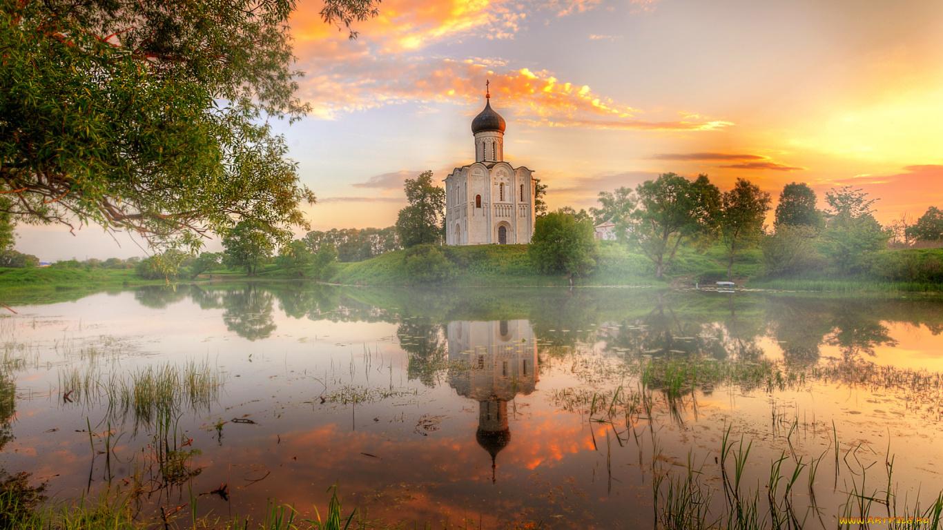обои на рабочий стол православные храмы и монастыри лето № 217110  скачать