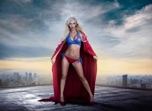 обоя разное, cosplay , косплей, supergirl