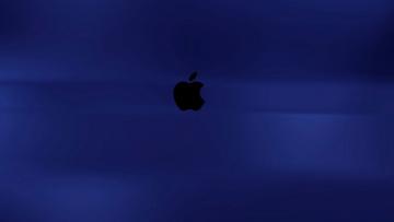 обоя компьютеры, apple, логотип, фон