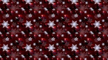 обоя векторная графика, другое , other, снежинки, фон, шарики, текстура