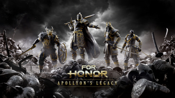 обоя видео игры, for honor, for, honor, файтинг, шутер, action