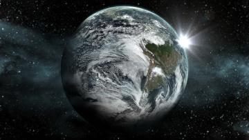 Картинка космос земля планета