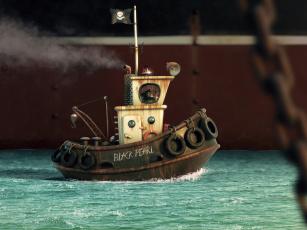 Картинка alexandre+trevisan корабли 3d black pearl alexandre trevisan буксир