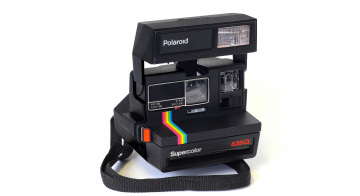 обоя polaroid supercolor 635 cl, бренды, polaroid, фотокамера