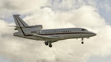 Картинка falcon+900ex авиация пассажирские+самолёты небо авиалайнер полет